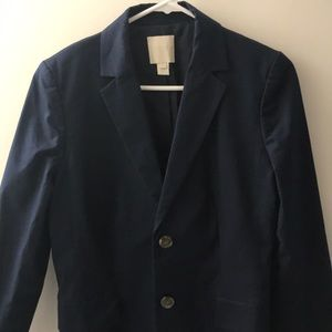 Jcrew cotton blazer -navy-6